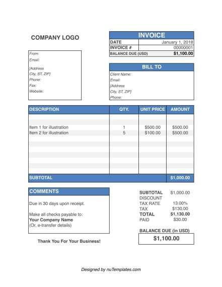 Attorney Invoice Template Lawyer Invoices Nutemplates